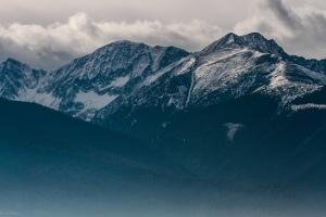 Fereastra Mare din muntii Fagaras ian 2014